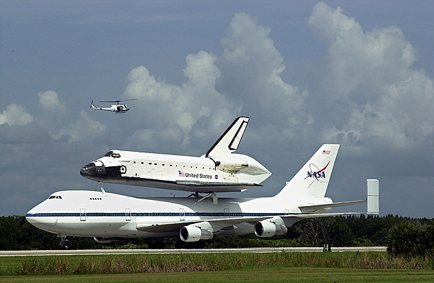 Space Shuttle Endeavour Ferried To Florida