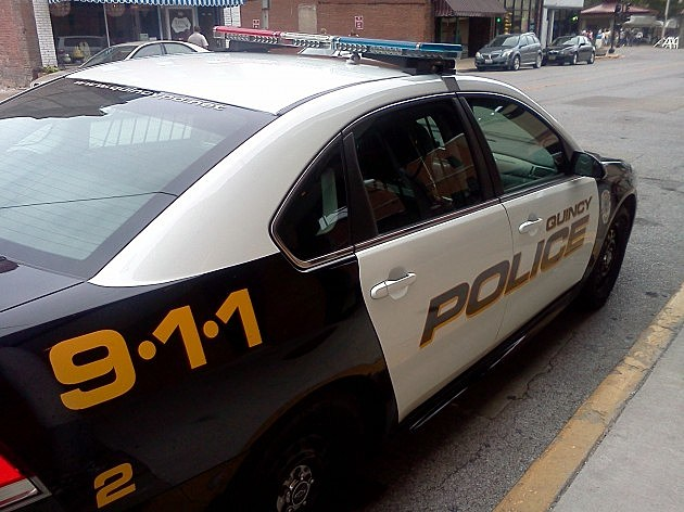 Quincy Police Car