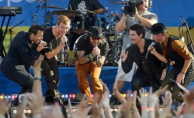 "Backstreet Boys Perform On ABC's ""Good Morning America"""