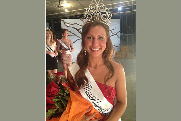 Kayla Bunch, 2013 Adams County Fair Queen