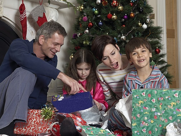 What time does your family get up on Christmas morning?