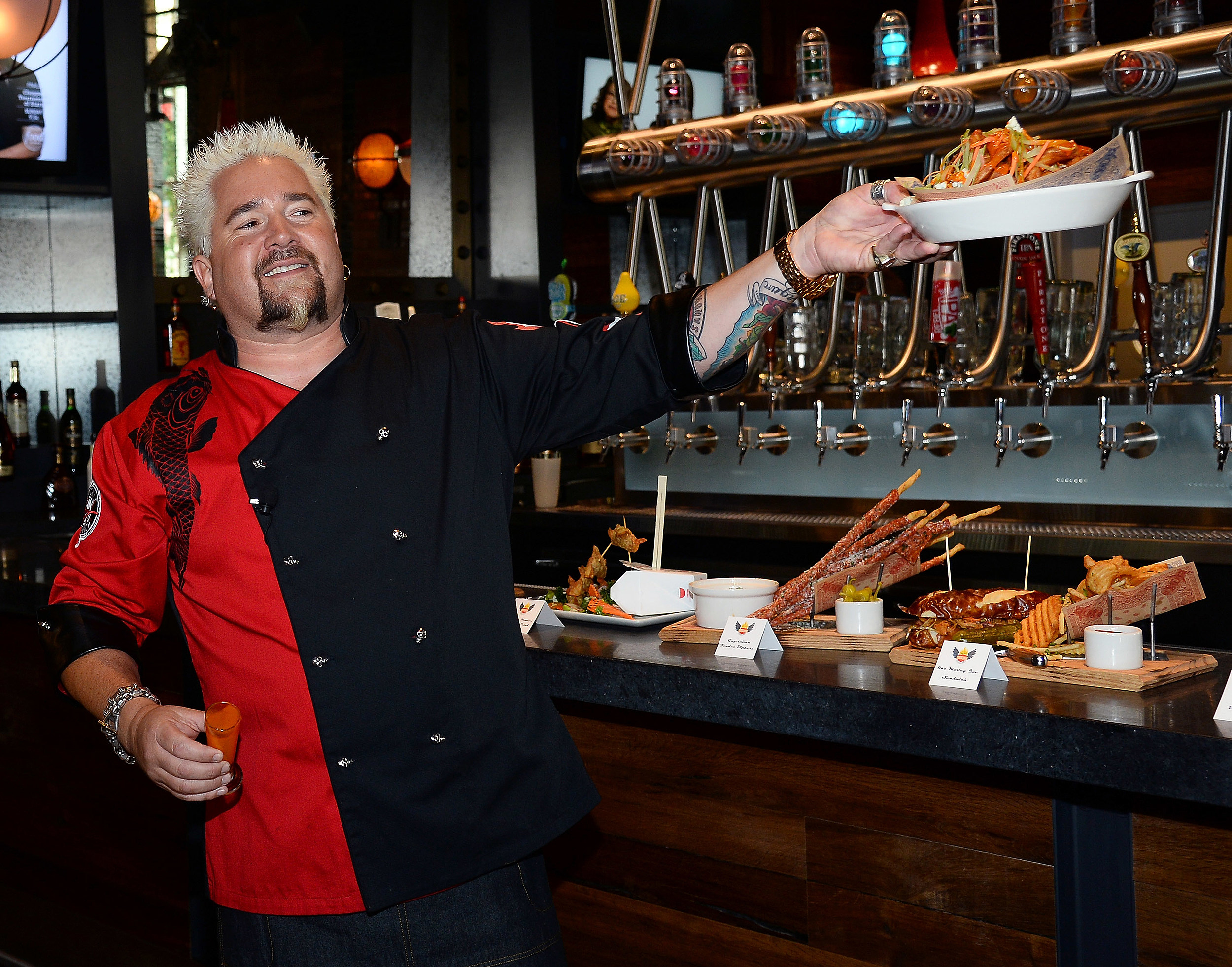 Guy Fieri's Vegas Kitchen & Bar Welcome Event