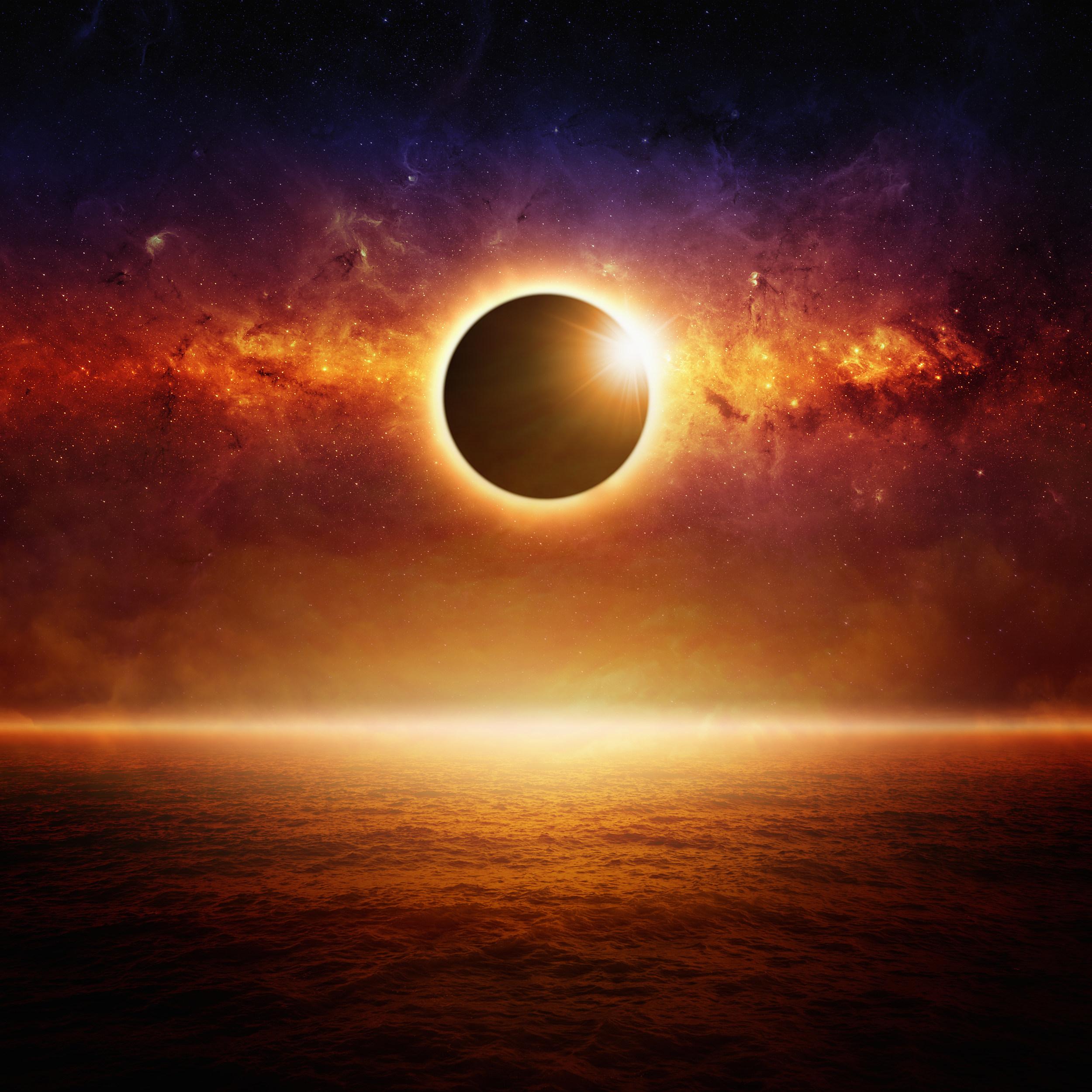Full sun eclipce