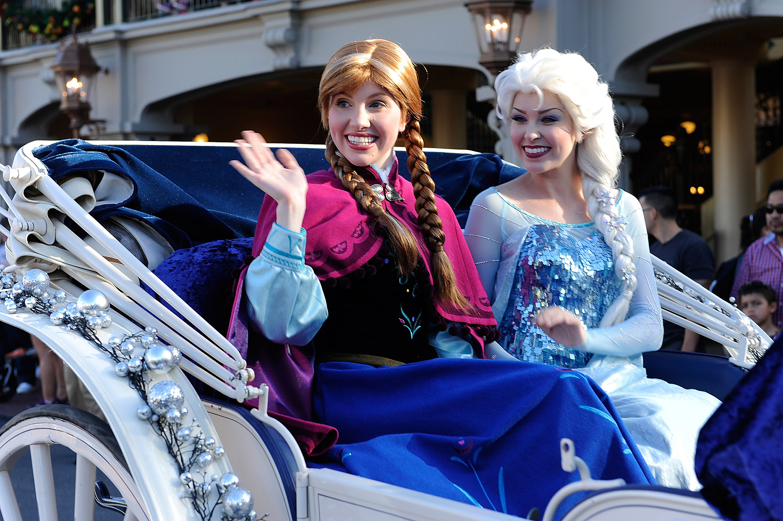 Elsa And Anna Coming To Quincy